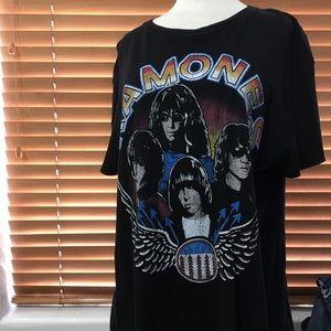Zara (basic collection) ramones tshirt